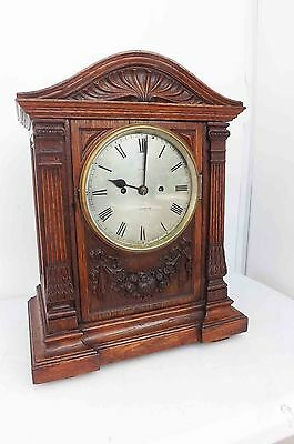 antique bracket clock twin fusee