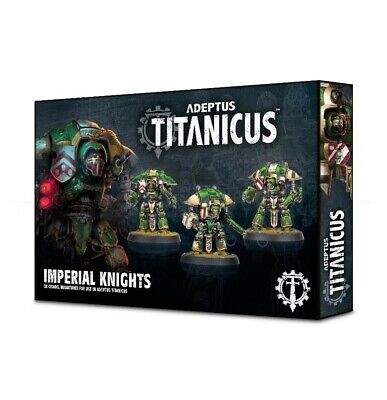 Adeptus Titanicus: Imperial Knights Games Workshop Brand New 99120399001
