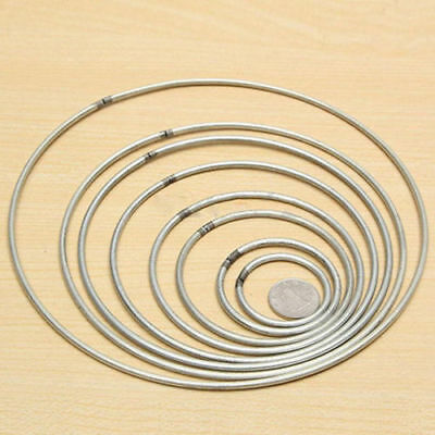 Metal Welded Ring Craft Round Hoop DIY Decoration Accessories