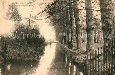 12619908 Chalons-sur-Marne Ardenne Allee Kanal Chalons en Champagne