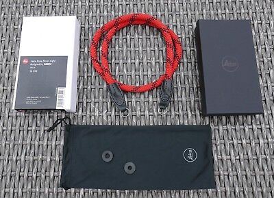 Leica Rope Strap 100cm - Fire designed by COOPH - Length 1 Meter
