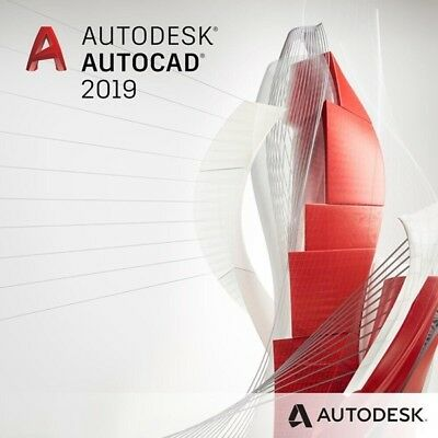 Autodesk AUTOCAD 2019 for Windows(Digital License)