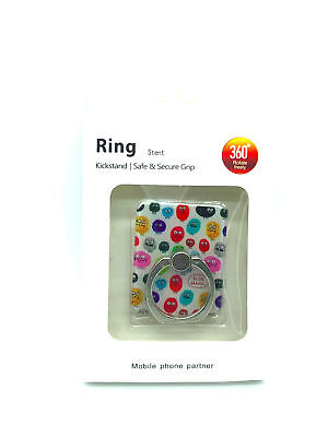 Elise Gravel Mobile Phone 360° Ring Stent Adhesive Cell Phone Kickstand