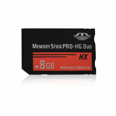 Brand New 8GB Memory Stick Pro Duo MS Card for Sony Digital Camera PSP Camcorder