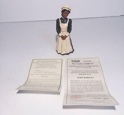 Mary Mahoney Figurine Miss Martha Originals All Gods Children Martha Root 2006