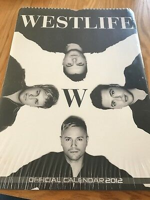Westlife Official Calendar 2012