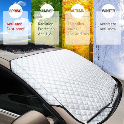 150*100cm Car Windshield Cover Sun Shade Protector Winter Rain Dust Frost Guard