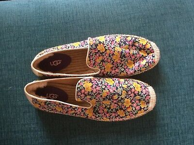 Ugg espadrilles Liberty Print UK 8.5 but come up small so more like 7.