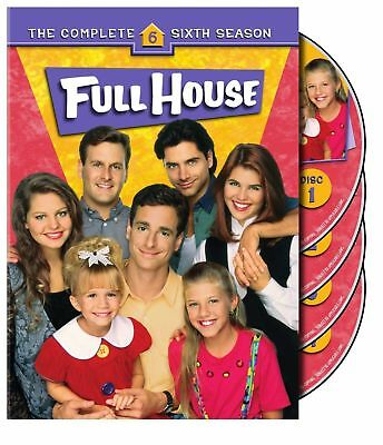 FULL HOUSE the complete sixth season series 6. Region free. New sealed DVD.