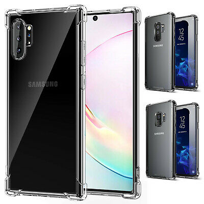 For Galaxy Note 9 / S9 / S9+ Plus Shockproof Hybrid TPU Clear Hard Case Cover
