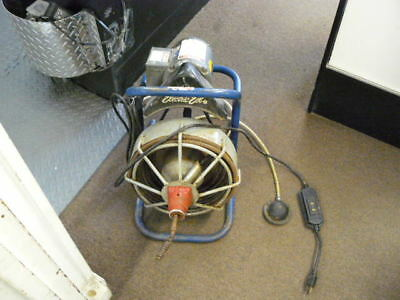 Electric Eel Model  Portable Commercial 50' Sewer Snake Drain Cleaner