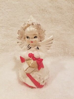 Vintage Relco Single Salt Shaker Christmas Angel