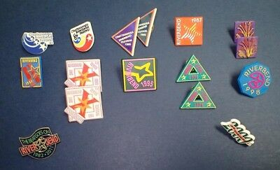 Riverbend Collector Pins - Chattanooga, TN Music Festival