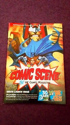 COMIC SCENE Magazine (2018) #0 UK Launch Issue