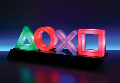 PlayStation Icons Lights LAMP Ps4 Psn Gift for Gamer Students Home Decoration