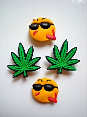 Jibbitz Croc Clog Charm Shoe Button Accessories Weed Reefer Cannabis Marijuana