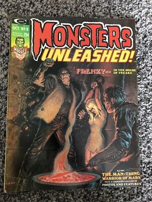 Monsters Unleashed! Magazine #8