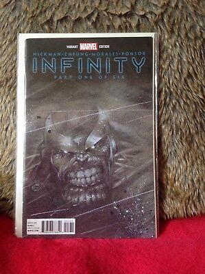 Infinity # 1 Launch Party Variant Edition Marvel Comics