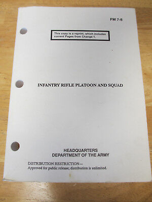 FM-7-8 Infantry Rifle Platoon and Squad Manual (March 2001 edition)