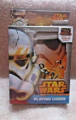 Star Wars Rebels Playing Cards In Collector's Tin, Gift, Stocking Stuffer