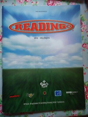 Reading Festival Programme 1998 The Prodigy New Order Page & Plant Foo Fighters