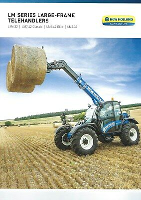 New Holland LM Series Telehandlers Sales Brochure - 2018