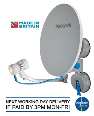 Maxview Remora 40 Suction Mounted Portable Sky Satellite TV Dish Kit