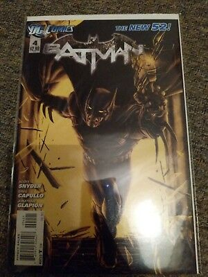 Batman New 52 #4 Variant Cover Mike Choi DC Comics Snyder Capullo NM