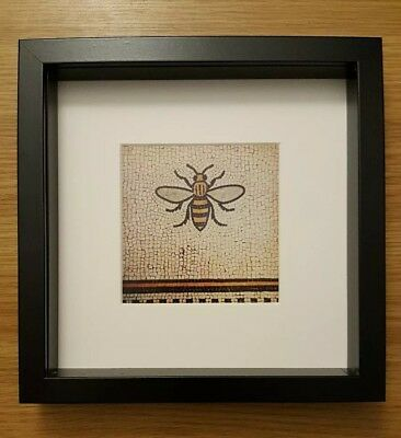 Framed Photograph Worker Bee Mosaic Manchester Photoprint Print Limited Edition
