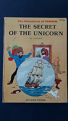 Tintin Secret of the Unicorn Golden Press  EO américaine belle 12 photos jointes