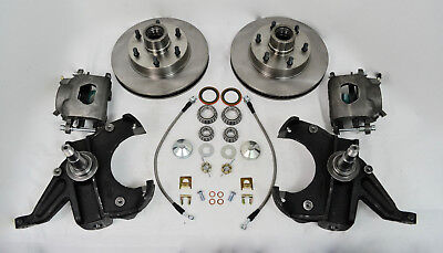 "Chevy Gm C10 C15 Truck 1963-70 Disc Brake Conversion 2.5"" Drop Spindles 6 Lug"
