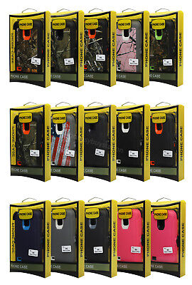 NEW! For Samsung Galaxy S5 Defender Case W SCREEN (Belt Clip Fits Otterbox)