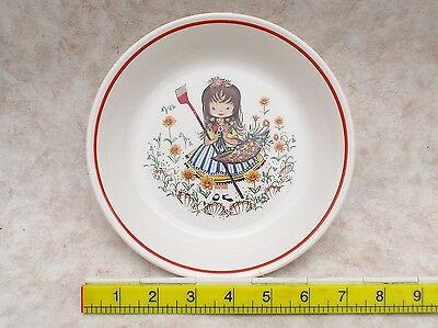 Royal Worcester Palissy Nursery Rhymes Bowl Mary Mary Quiet Contary How Does ?