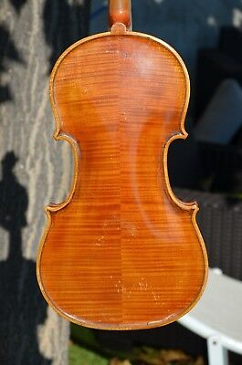 Old French violin stamped ''JTL '' great condition