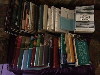 Joel Goldsmith books 49 titles. RARE spiritual collection. See list for titles