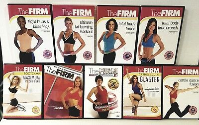 (9) The FIRM Fitness WORKOUT DVDs & eBook Guides + FREE Health & Fitness BONUSES