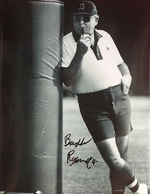 Buddy Ryan Chicago Bears Super Bowl Xx Autographed Signed 8X10 Eagles #4