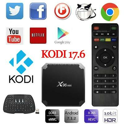 X96 Mini TV Box Android 7.1 KODI 17.6 S905W Quad Core WiFi 1G+8G 4K Media Player