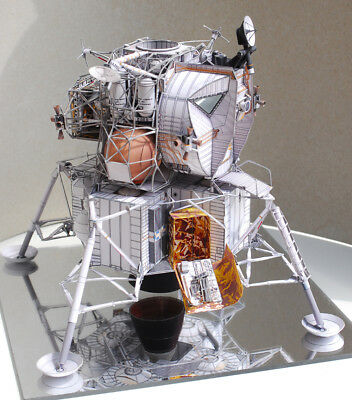1:48 Scale Apollo13 Mooncraft DIY Handcraft PAPER MODEL KIT