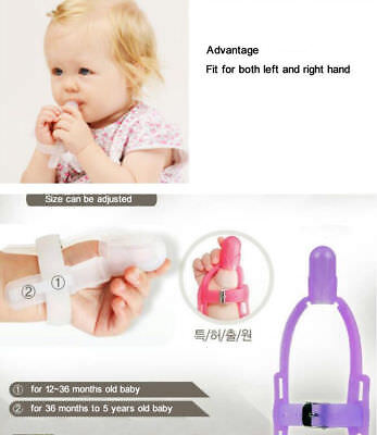 Thumb Sucking Stop Silicone Finger Guard For Baby Kids Under 5 years Old