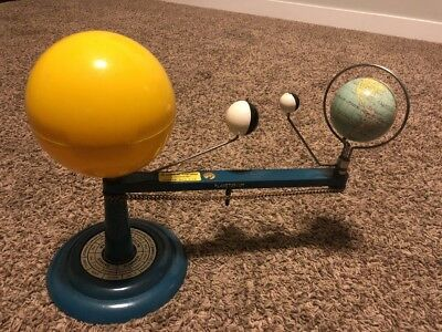Vintage TRIPPENSEE, The Elementary Planetarium Made In SAGINAW, MICH., U.S.A.