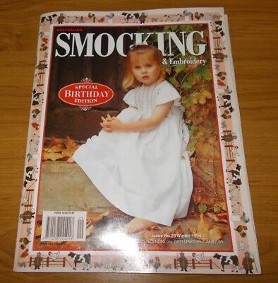 Australian Smocking & Embroidery Magazine Issue #29~Birthday Edition~1994