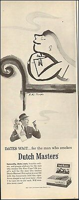 1957`Vintage ad for Dutch Masters Cigars`Art Carton (100515)