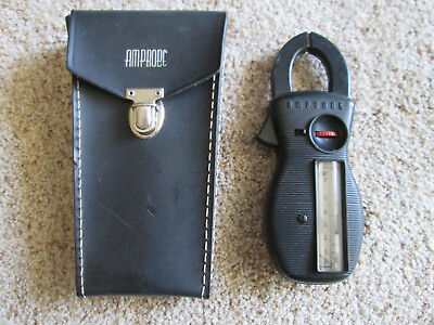 Vintage Amprobe RS-3 Clamp On Ammeter and AC Voltage Tester with Case