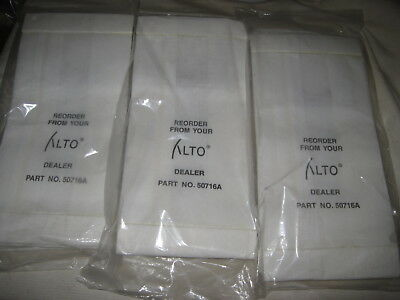Lot of 18 Genuine Alto 50716A Dust Bags Clarke Burnisher Bags 3 x 6-Packs NEW