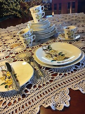 Vintage Rosabella crockery set