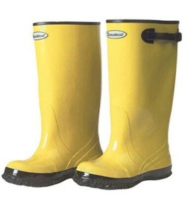 "New Tingley 17"" Yellow Rubber Legging Workboot Boot Sz 11- Near Indestructible."