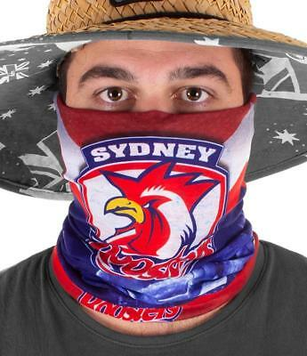 NRL Sydney Roosters Fishing Multi Scarf - Face Shield - Bandana - Wrist Band