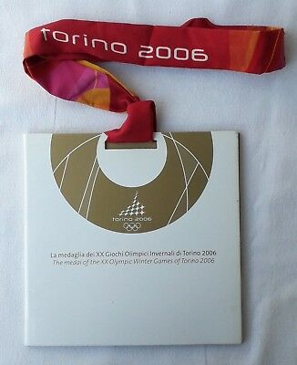 Olympiad Torino 2006 Booklet Medal of the XX Olympic Winter Games of Torino 2006