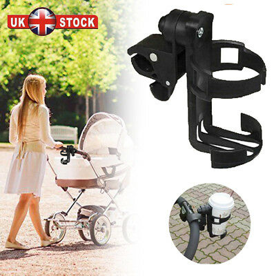 Baby Milk Cup Drink Bottle Holder Stand For Pushchair Buggy Stroller Holder UK